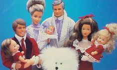Remember when Mattel had The Heart Family - a Barbie-like family where everyone had great hair?