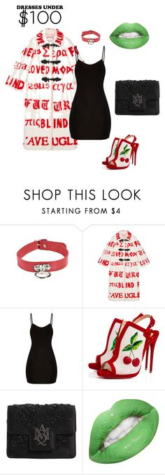 """""""Untitled #22"""" by maddiescheel ❤ liked on Polyvore featuring Gucci, Christian Louboutin and Alexander McQueen"""