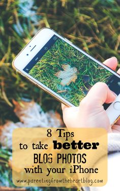 If a DSLR isn't in your near future and you really want to get the most out of using your iPhone, this post is for you! Here are 8 tips to take better blog photos using your iPhone #Smartphones