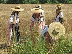 Costume Français, French Outfit, French Countryside, Saint Tropez, Historical Clothing, Msgm, Fashion History, Traditional Outfits, Cowboy Hats