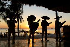 mariachi band silhouette