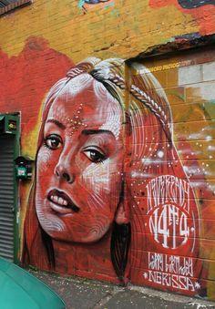 Street art/Graffiti inspiration/N4T4 https://www.etsy.com/shop/urbanNYCdesigns?ref=hdr_shop_menu