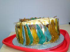 Jak zrobić kolorowe plastry gruszki do dekoracji tortów DIY