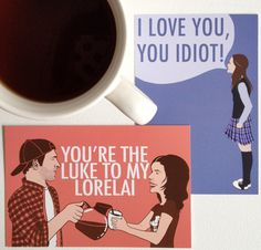 Gilmore Girls Valentines looove it! Althought Lorelai looks kinda weird Luke And Lorelai, Amy Sherman Palladino, Girlmore Girls, Stars Hollow, Great Tv Shows, Geek Out, Holiday Parties, Make Me Smile, Movie Tv