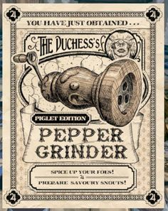 Alice's Pepper Grinder