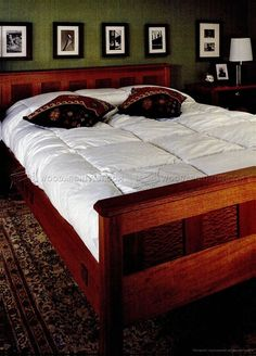 #1569 Bedroom Furniture Plans - Furniture Plans
