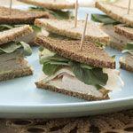 Curried Tea Sandwiches Recipe   MyRecipes.com