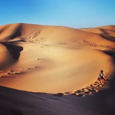 The tranquility of the Sahara Desert. Photo courtesy of myriesh on Instagram.