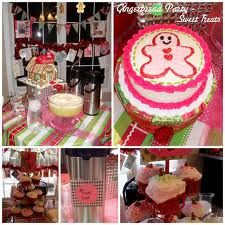 J gingerbread birthday party - Google Search
