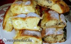 Érdekel a receptje? Hungarian Desserts, Hungarian Recipes, Ring Cake, Czech Recipes, Light Desserts, Waffle Iron, Ciabatta, Strudel, Sweet And Salty