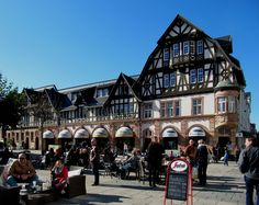 Marktplatz in Bad Homburg, Germany. Nice long weekend there. We flew home on 10 September 2001...if that means anything to anybody...