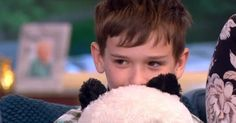 Now the youngster and his family is being treated to a trip to Hong Kong to meet real pandas
