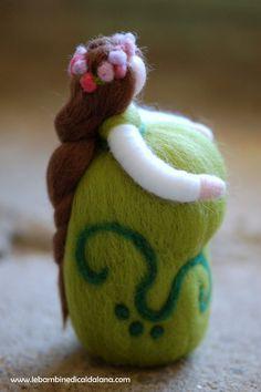 Dolce attesa, in lana fiaba, ispirazione Waldorf