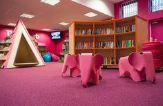 School Library Decorating Ideas | The Miriam Lord School | Demco Interiors - Inspiring Library Design