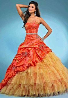 Hollywood Ball Gown Sweetheart Floor-length 2014 New Style Ball Gown Dress - Storedress.com on Wanelo