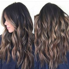 Nueva tendencia  - Mechas tiger eye