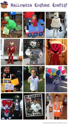 Homemade Costumes for Boys - a lot costume ideas!