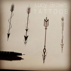 "78 Likes, 5 Comments - Lucy Brown (@lucybrowntattoos) on Instagram: ""Arrows.....designs available to be handpoked by me... #arrowtattoo #vikingsymbol #handpokesymbols…"""