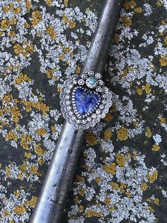 Hey, I found this really awesome Etsy listing at https://www.etsy.com/listing/591098343/the-crowned-heart-lapis-ring-lapis-and