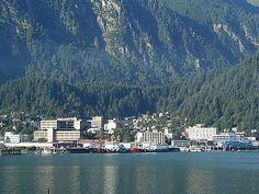 Juneau, Alaska - home to the Permanent Fund Corporation