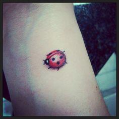 My lady bug tattoo
