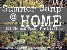 Summer Fun: Great ideas for quick, thrifty summer fun with the kids!