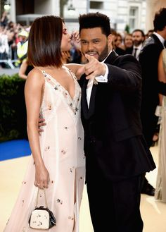 All of Selena Gomez and The Weeknd's Met Gala PDA  - ELLE.com