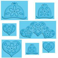 Spellbinders Enhanceabilities Pop Ups Dies Hearts and Flowers