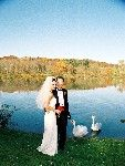 A wedding on the water in Hocking Hills
