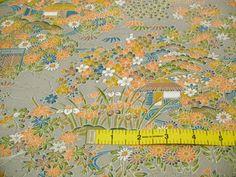 RARE Yuzen Chayatsuji Vintage Japanese Tango by CosimaOrimono, $45.00