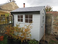 Superior Shed with Georgian Windows  Featured in this installation:-  Double-glazed, Georgian windows were added, one of which opened to provide additional ventilation, together with our security pack, which includes integral window bars, an anti-pick, anti-crop lock and security screws and hinges.  Full details :- https://www.cranegardenbuildings.co.uk/installed-buildings-cambridgeshire/sheds-in-cambridgeshire