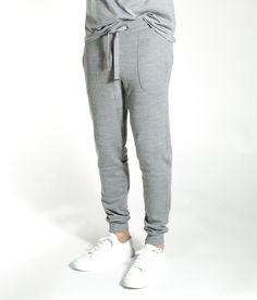 Bjørke Pants men Grey melange Nice Tops, Bring It On, Sweatpants, Men, Fashion, Moda, Fashion Styles, Guys, Fashion Illustrations