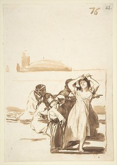 Francisco Goya, Spanish, 1746-1828. Ink.  http://images.metmuseum.org/CRDImages/dp/web-large/DP800220.jpg