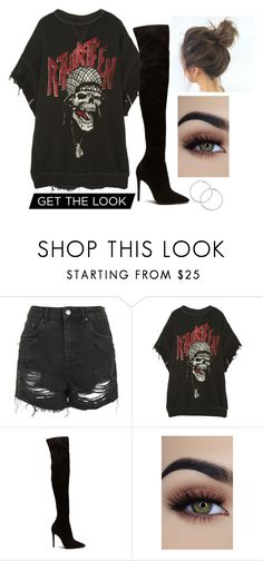 """Castle on the hill"" by thefashionguilty on Polyvore featuring moda, Topshop y R13"