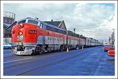 California Zephyr at Oakland, 1968 - final destination Chicago