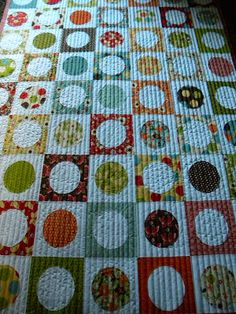 Sew Kind Of Wonderful: Finished Mom's Quilt