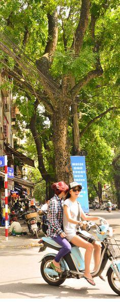 ハノイの街並み(Hanoi Street Photo)