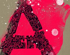 """Check out new work on my @Behance portfolio: """"A-letter doodle"""" http://on.be.net/1Zd08L0"""