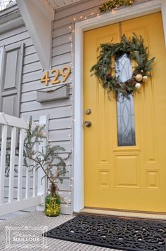social-butterfly-yellow-door Sherwin Williams