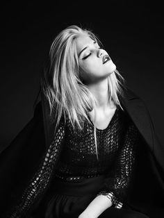 Sky Ferreira for Saint Laurent PF2013
