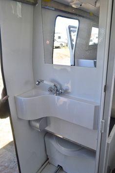 shower in ram promaster camper - Google Search