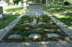 Orville and Wilbur Wright Grave Site Woodland Cemetery Dayton Ohio ...