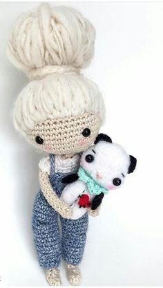 1000+ images about Crochet Doll Inspiration on Pinterest ...