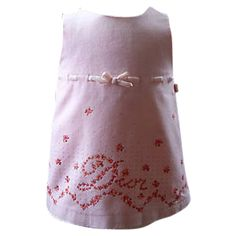 Subblime robe dior velours rose BABY DIOR Pink size 2 YEARS FR in Velvet All seasons - 50460
