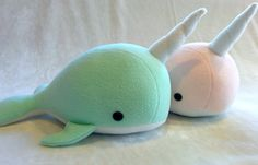 Narwhal Whale Plush toy