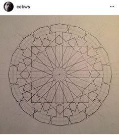 Islamic Art Pattern, Arabic Pattern, Geometry Pattern, Geometry Art, Pattern Art, Zentangle Patterns, Mosaic Patterns, Motifs Islamiques, Art Articles