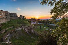 controluce - teatro romano volterra