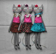 ESZTERDA rag cats