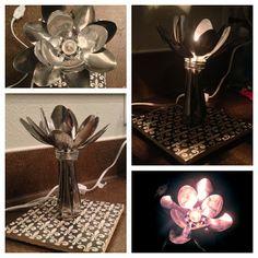 Licia Brooke Creations: Spoon light