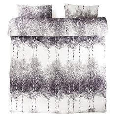 Pościel Koivikko UK Grey, 200x200 cm + 50x75 cm | Bonami
